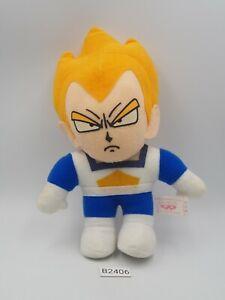 """Super Saiyan Vegeta B2406 Dragon Ball Z Banpresto Plush 7"""" 1993 Toy Doll Japan"""