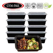 10-Pack comida contenedores de alimentos de preparación 24oz Gimnasio-Pak (contenedores más fuerte)