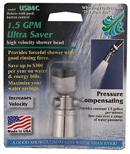 1.5 gpm ULTRA Water Saver Showerhead with Push Button Shower Head $aves LOW FLOW