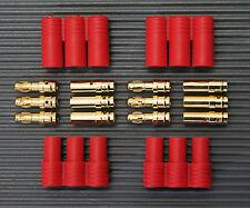 2 Paar 3 Polig HXT 3,5mm Stecker + Buchse  3,5mm Hochstromstecker