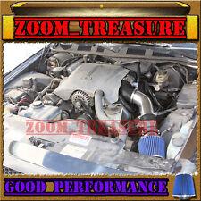 BLACK BLUE 1996-02 FORD CROWN VICTORIA/TOWN CAR/GRAND MARQUIS V8 FULL AIR INTAKE