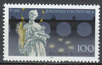 Germany 1993 Mi 1655 Sc 1776 MNH Saint of Bohemia Johann von Nepomuk & Bridge **