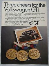 1986 VW Golf GTi Original advert