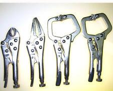 4pc Vice Grip Mini Locking Pliers Set HIGH CARBON STEEL *US FAST FREE SHIPPER*