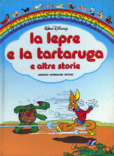"WALT DISNEY-1985  ""  LA LEPRE E LA TARTARUGA  e  ALTRE  STORIE """