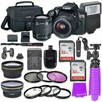 Canon EOS Rebel T6 DSLR Camera Bundle with Canon EF-S 18-55mm f/3.5-5.6 IS II