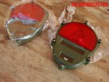 MILITARY Truck  TAILLIGHT/BLACKOUT Tail LIGHT BEZEL FACE COVER (Pair) New M35