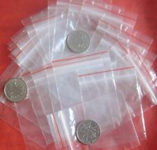 500 Buste Bustine Sacchetti di Plastica Trasparenti 4x6 chiusura a Zip Lock semi