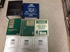 1993 Lincoln Mark VIII Service Repair Shop Workshop Manual Set W EVTM + PCED