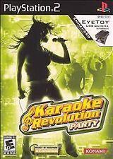 Karaoke Revolution Party - PlayStation 2 Konami Video Game