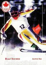 1992 Canadian Olympic Hopefuls #76 Ralf Socher