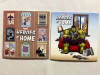 HEROES AT HOME #1A & #1B FIRST PRINT & RON LIM VARIANT 2020 MARVEL NEW SET LOT