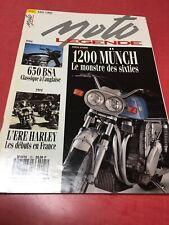 Moto légende revue 25 1993 1200 Münch BSA 650 Harley Godet New Map Motosacoche