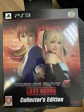 BRAND NEW PS3 - DEAD OR ALIVE 5 Last Round - Collectors Edition BOX - JAPANESE