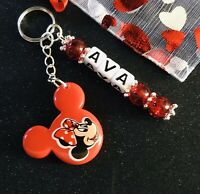 Earth Squared Mouse Keyring in a choice of colours