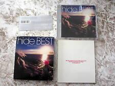 hide(X Japan, zilch)BEST PSYCHOMMUNITY 1st Limited Japan CD w/OBI MVCH-29044
