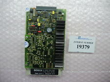 Amplifier card Bosch No. B 830 303 227, Ferromatik used injection molding