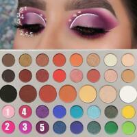 Neu 71 Farben Matte Lidschatten-Palette Make-up Puder Lidschatten Tablett Lange