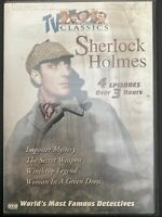 The Worlds Most Famous Detectives - Vol. 4: Sherlock Holmes (DVD, 2003)