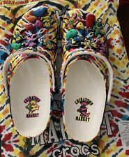 China Town Market x Grateful Dead Crocs Men's Size 10M/12W