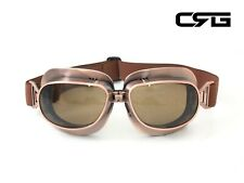 New CRG Vintage Bike Aviator Pilot Motorcycle Cruiser Scooter Goggles T04 T04NT
