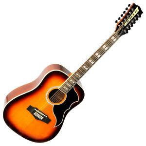 Eko Ranger 12 VR Acoustic Guitar in Honey Burst