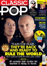 Classic Pop Magazine Tears For Fears Duran Duran Happy Mondays U2 George Michael