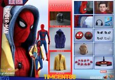 Pre-Order Hot Toys MMS426 Spider-Man Homecoming Peter Parker Tom Holland Deluxe