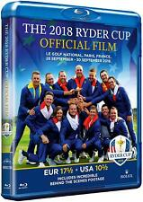 The 2018 Ryder Cup Official Film and Behind the Scenes [Blu-ray] NEU Europa USA
