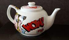 """Paul Cardew Design Pop Art """"POW"""" Teapot Limited Edition 1562/2000"""