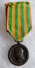 Médaille Commémorative Campagne TONKIN CHINE ANNAM 1883 Modèle Marine Argent N°2