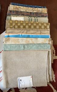Upholstery Fabric Samples Swatches Mixed Lot about 7 Pounds Shumacher #1
