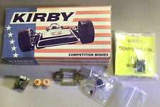 """NOS vintage """"RIGGEN"""" Ho Chassis/guide w/ Kirby Comp. Porsche 917 Body & Parts"""