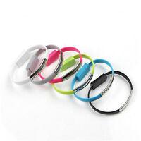 Bracelet Chargeur Usb Type c pour Samsung Câble De Chargeur Transfert De Données