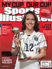 Lauren Holiday Jsa Coa Signed Sports Illustrated World Cup 2015 Si Autographed