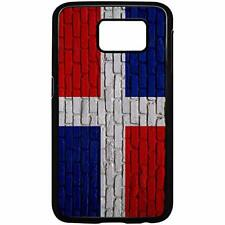Samsung Galaxy Case with Flag of Dominican Republic Options