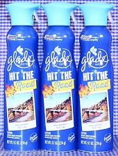 3 Glade HIT THE ROAD Limited Edition Air Refresher Spray