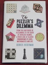 THE PUZZLER'S DILEMMA ~ Derrick Niederman ~ Hardcover D/J