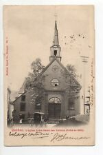CANADA carte postale ancienne QUEBEC église notre dame des victoires batie 1682