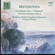 "Beethoven / Symphony No.6 ""Pastoral"" Leonora Overture No.2 - Bratislava , Halasz"