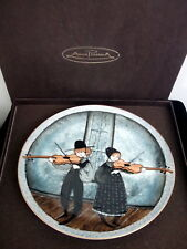 P. Buckley Moss 'Fiddlers Two' Ltd. Edition Plate