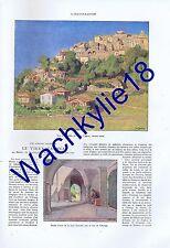 L'illustration n°4670 03/09/1932 Cagnes Salève Sixt Câblier Télégraphie Fascisme