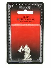 Fighter with Axe #03-037 Classic Ral Partha Fantasy RPG Metal Figure