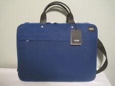 """$398 Jack Spade Men's Waxwear Slim Brief Fits 15"""" Laptop  Royal Blue  NWT"""
