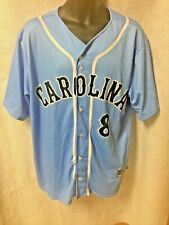 North Carolina Tarheels Polyester Baseball Jersey Large New Salesman Sample