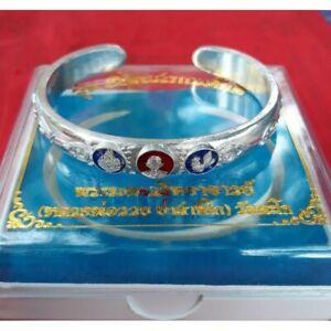 Bangle LP Ruay Talisman Mercy Millionaire Bracelet Wat Tako Thai Buddha Amulet