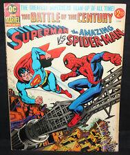 Superman vs. The Amazing Spider-Man DC Marvel Crossover Treasury (FN) 1976