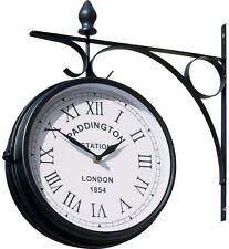 Paddington Outdoor Garden Clock