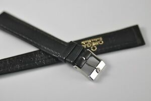 Omega 17mm Vintage Band Strap with Stainless Steel Buckle NOS