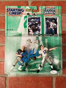 Troy Aikman autographed signed Starting Lineup NFL Dallas Cowboys JSA